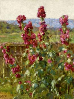 Körösfői Kriesch Aladár - Virágoskert, 1918