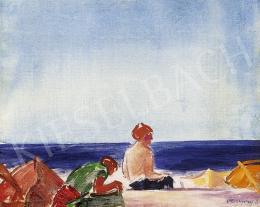 Vaszary János - Itáliai tengerparton (1929-30 körül)