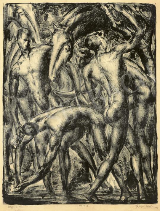 Krón Jenő - Aranykor, 1923 | 60. Téli Aukció aukció / 27 tétel