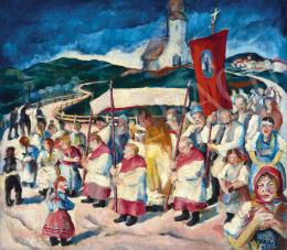 Jakoby, Gyula - Procession, 1930