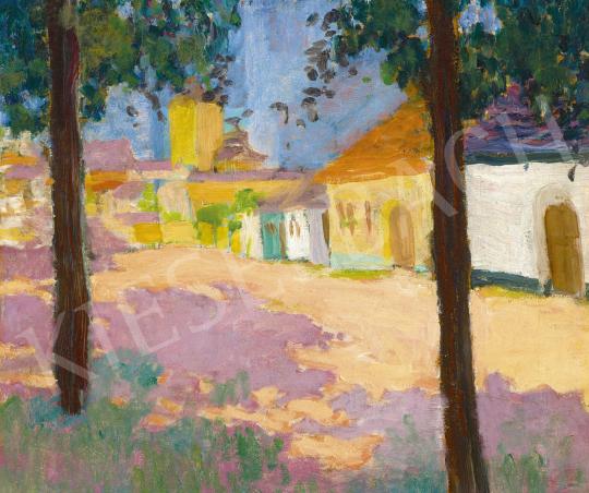 Kővári Szilárd - Kisvárosi utca, 1909-10 | 60. Téli Aukció aukció / 34 tétel