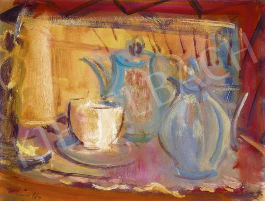 Márffy Ödön - Uzsonna (Kávé) | 60. Téli Aukció aukció / 64 tétel