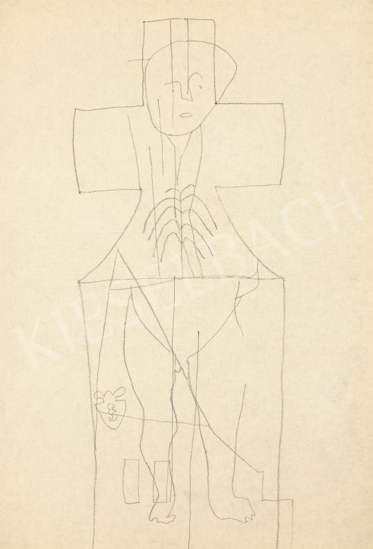 Vajda Lajos - Pléh-Krisztus | 60. Téli Aukció aukció / 68 tétel