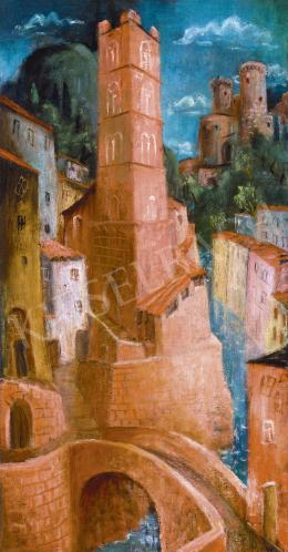 Pekáry István - Olasz kisváros