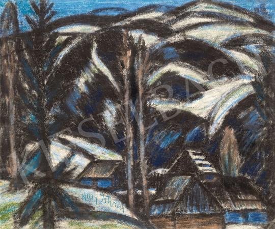 Nagy István - Erdélyi havasok (Gyimesi táj), 1930 körül | 60. Téli Aukció aukció / 86 tétel