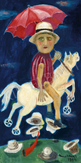 Anna, Margit - Rider (Messiah Series), 1984
