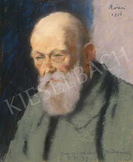 Rippl-Rónai József - Mednyánszky László portréja, 1916
