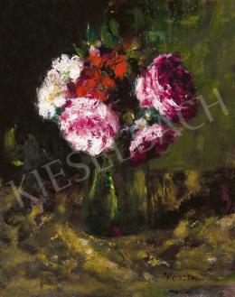 Koszta József - Rózsák vázában