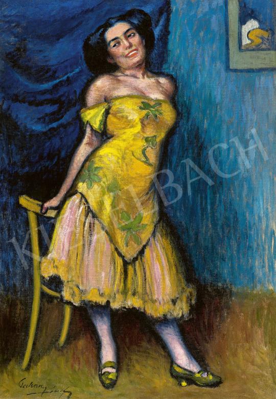 Pechán József - Spanyol szépség, 1910 körül   60. Téli Aukció aukció / 102 tétel