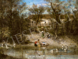 Bruck, Lajos - By the Brook, 1874