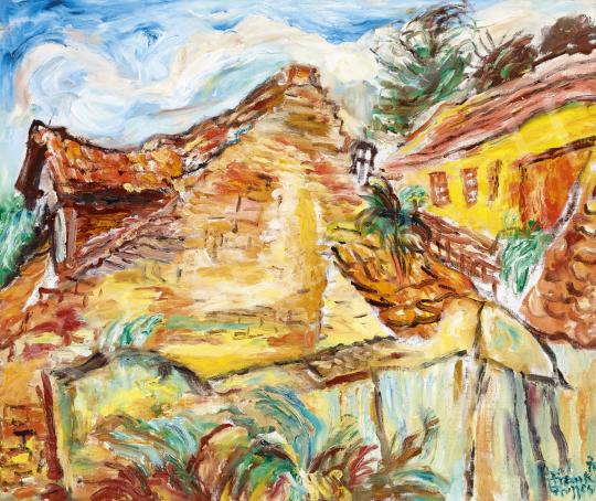 Frank Frigyes - Ódon házak, 1970 | 60. Téli Aukció aukció / 131 tétel