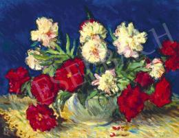 Boldizsár István - Virágcsendélet, 1961