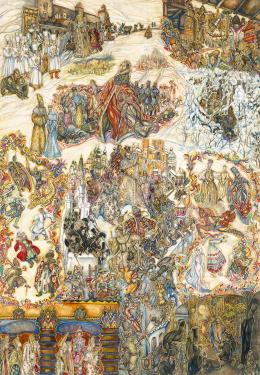 Batthyány Gyula - Oroszok (Az orosz történelem évszázadai)