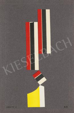 Korniss, Dezső - Balance, 1953