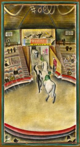 Bartoniek Anna - Art deco cirkusz (Manézs), 1930 körül