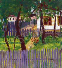Tihanyi Lajos - Nagybányai kert, 1907
