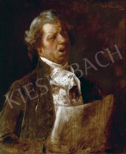 Munkácsy Mihály - Az énekes (Alaktanulmány a Mozart halála című festményhez), 1885–86