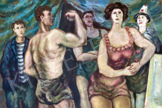 Bortnyik Sándor - Vándorcirkusz, 1943 | 60. Téli Aukció aukció / 188 tétel