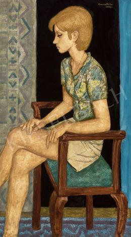 Czene, Béla jr. - Young Girl in Mini Skirt, 1973