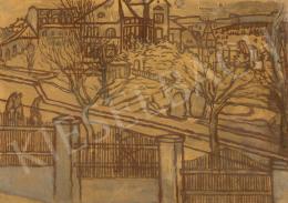 Rippl-Rónai József - Kilátás a műteremből