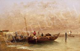 Kaufmann, Karl - Velencei halászbárkák