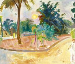 Bornemisza Géza - Késő délutáni fények, 1928