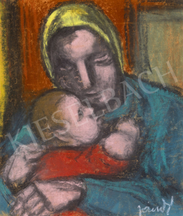 Jándi, Dávid - Mother with her Child