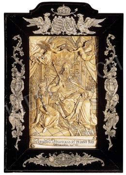Ismeretlen 18. századi művész - Szent István király és Imre herceg