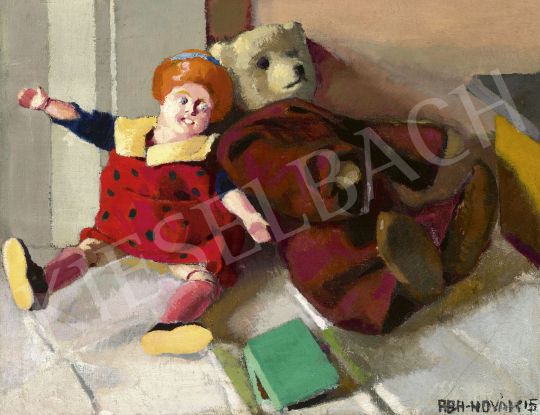 Aba-Novák, Vilmos - Still Life with Toys, 1915 | 60th Winter Auction auction / 228 Item