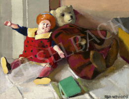 Aba-Novák, Vilmos - Still Life with Toys, 1915