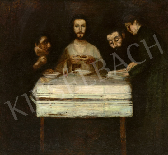 Kernstok, Károly - Supper at Emmaus | 60th Winter Auction auction / 229 Item