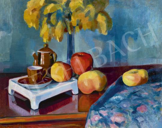 Kmetty János - Műtermi csendélet, 1910-es évek eleje   60. Téli Aukció aukció / 235 tétel