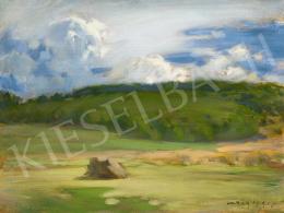 Vaszary János - Gomolygó felhők, 1905