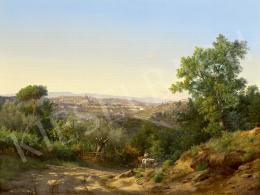 Ifj. Markó Károly - Firenze látképe, 1872
