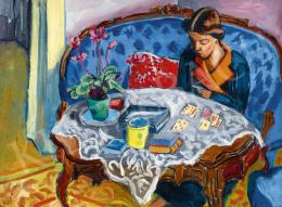 Fenyő György - Pasziánsz, (Hommage á Matisse)
