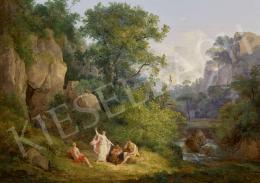 Id. Markó, Károly sr. - Landscape with Bacchus, 1828