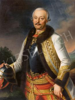 Ismeretlen 19. századi festő - Gróf Haller Sámuel generális portréja