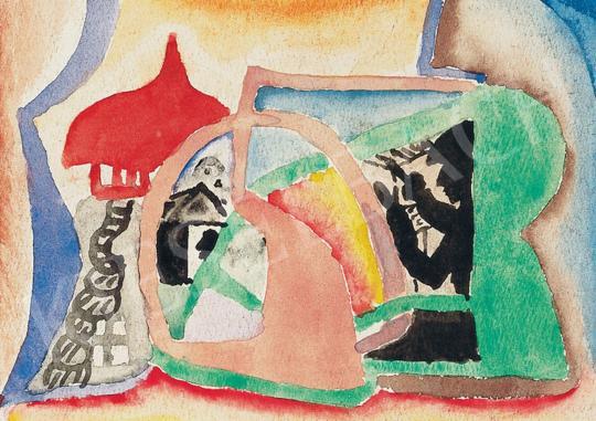 For sale  Kádár, Béla - Composition 's painting