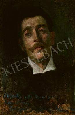 Ferenczy Károly - Herrer Cézár festő portréja, 1899
