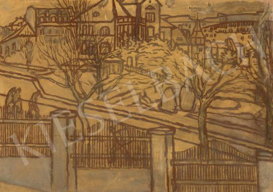 For sale Rippl-Rónai, József - View from the Studio 's painting