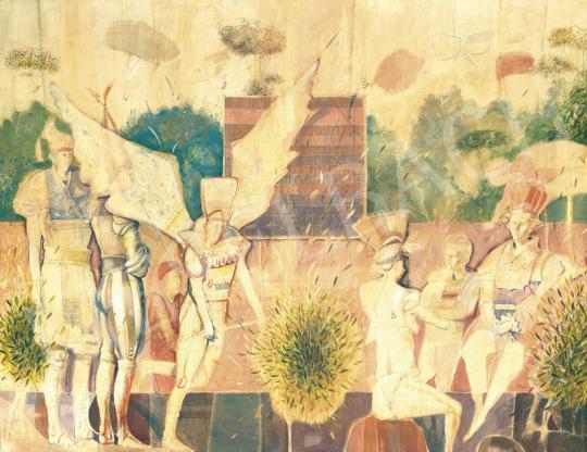 Nagy, Gábor - Showmen II. painting