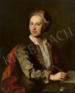 Ismeretlen magyar festő (Johann Kupetzky köre) - Férfi zsebórával