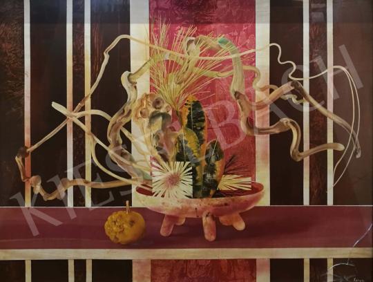 Korga György - Moribana festménye