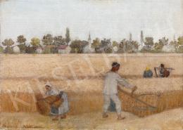 Benedek Péter - Aratás, 1934