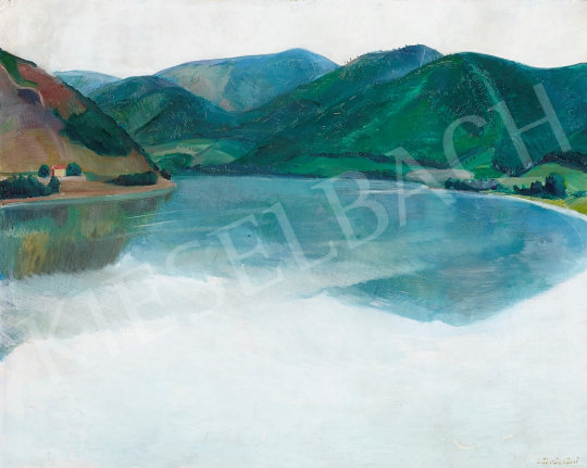 For sale Döbröczöni, Kálmán - The Danube Bend, c. 1930 's painting