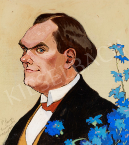 Faragó Géza - Dr. Seenger Gyula, az MLSZ első orvosának portréja, 1911 körül