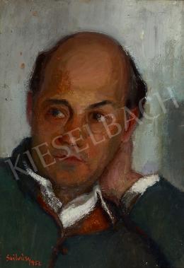 Szilvásy, Margit (Szilvássy Margit, Szilvásy  - Portrait of Tamási Áron, 1952