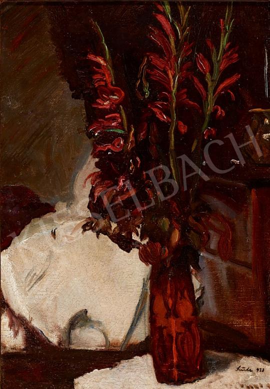 Eladó Szüle Péter - Virágcsendélet, 1921 festménye