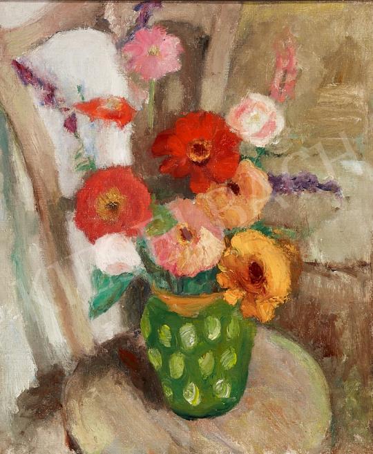 Eladó Vass Elemér - Virágcsendélet, 1930 körül festménye