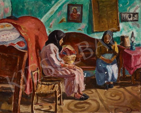 For sale Vitéz Darvassy, István (Darvasi István) - Room in Mártély, c. 1933 's painting